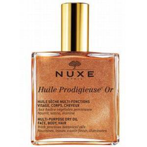 プロディジュー オイルにゴールドパールを配合した、1本で顔・体・髪を保湿する植物オイル配合のマルチユ...