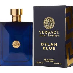 ヴェルサーチ新作メンズフレグランス「ディラン ブルー」ウッディの官能的な香り!  香調:フゼア・ウッ...
