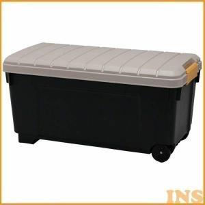 RVボックス RVBOX 1000 カーキ/ブラック(アイリスオーヤマ)()収納ボックス トランク収...