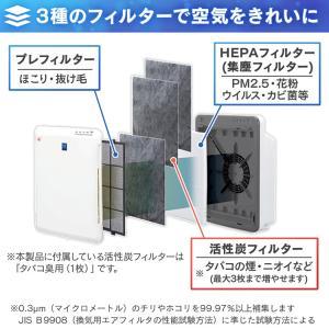 空気清浄機 小型 花粉 アイリスオーヤマ PM2.5 ペット PMAC-100|bestexcel|03