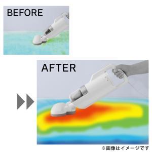 掃除機 布団掃除機 布団クリーナー アイリスオーヤマ 超吸引ふとんクリーナー ホワイト ダニ チリ ふとん IC-FAC2(あすつく) bestexcel 07