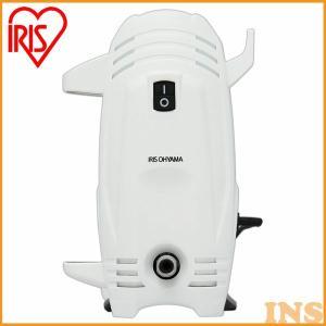 高圧洗浄機 家庭用 アイリスオーヤマ FBN-401 ホワイト コンパクト 軽量