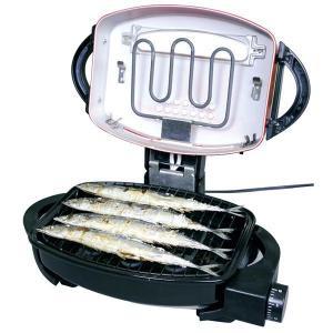 【期間限定大特価】フィッシュロースター 魚焼きロースター 魚焼き器 グリル マルチロースター EMR-1101 セール|bestexcel|04