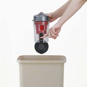 掃除機 クリーナー パワーヘッドスティッククリーナー コンパクト 紙パック不要 自走式 パワーヘッド サイクロン IC-SM1-R レッド アイリスオーヤマ|bestexcel|15