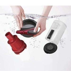 掃除機 クリーナー パワーヘッドスティッククリーナー コンパクト 紙パック不要 自走式 パワーヘッド サイクロン IC-SM1-R レッド アイリスオーヤマ|bestexcel|16