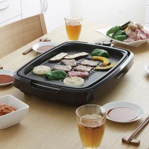 ホットプレート 大型 焼肉用ホットプレート 網焼き アイリスオーヤマ たこ焼き 焼肉 ホームパーティー パーティー おしゃれ APA-137-B(あすつく)|bestexcel|09
