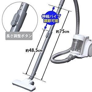 掃除機 サイクロン クリーナー コンパクト お掃除 紙パック不要 吸引力 軽量 隙間 持ち運び サイクロンクリーナー IC-C100-W アイリスオーヤマ(あすつく) bestexcel 04