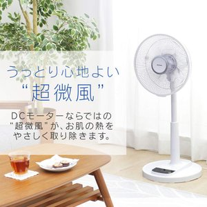 扇風機 DCモーター 安い リビング 30cm リモコン付き アイリスオーヤマ LFD-306L|bestexcel|03