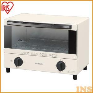 オーブントースター アイリスオーヤマ トースター おしゃれ レトロ 4枚 EOT-012-W(ast)|bestexcel|09