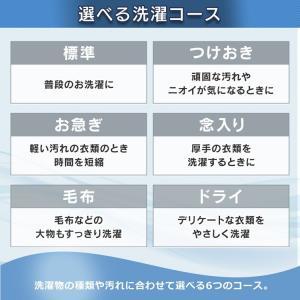 洗濯機 一人暮らし 5kg 全自動洗濯機 縦型 えりそでクリップ IAW-T501 アイリスオーヤマ 単身 5.0kg シンプル|bestexcel|07