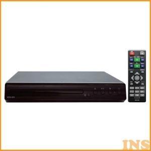 DVDプレーヤー DVDデッキ DVD再生機  ブラック KDV-001 TMIジャパン