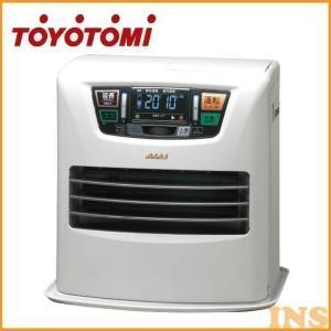 石油ファンヒーター(快適おまかせ機能・人感センサー・リモコン付き) シルキーホワイト LC-SL43H トヨトミ (D)|bestexcel