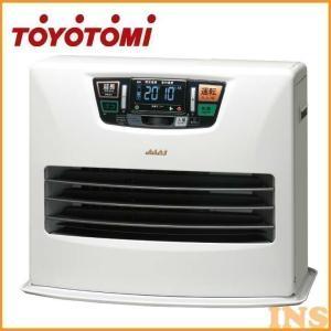 石油ファンヒーター(快適おまかせ機能・人感センサー・リモコン付き) シルキーホワイト LC-SL53H トヨトミ (D)|bestexcel