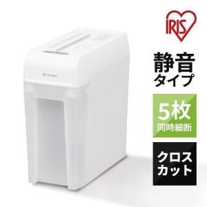 シュレッダー 電動シュレッダー 家庭用 業務用 P5HCS アイリスオーヤマ