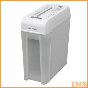 シュレッダー 家庭用 アイリスオーヤマ 電動 マイクロクロスカット コンパクト 6枚 静音 CD対応 DVD対応 プラスチックカード オフィス A4用紙 P6HMCS|bestexcel|02