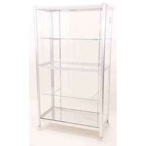 ガラスコレクションケース TOP-1508SG ガラス棚板3枚付属 最高級品|bestfactoryshopping2