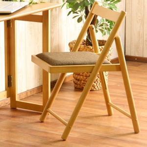 フォールディングチェアー ミラン ナチュラル 折りたたみ 折り畳み 椅子 イス いす|bestline