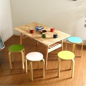椅子 カラフルスツール 丸型 可愛い おしゃれ スツール/腰掛け/スタッキング可能/チェアー スツール チェア|bestline