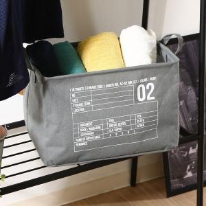 衣類、小物等の収納に便利  全体:幅380 × 奥行260 × 高さ260 材質:綿60%/ポリエス...