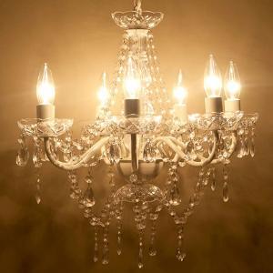 シャンデリア アンティーク調 ヨーロッパ風 ノックダウン 7灯シャンデリア ウラナス・ウラノス Cream 天井照明|bestline