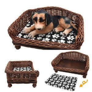 ペット用ベッド アジアンテイスト 犬 猫 うさぎ ペットマット ペットベッド 通気性 清潔 インテリア シーツ ベッド かわいい おしゃれ インスタ インスタ映え|bestline