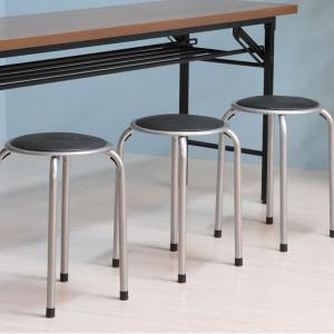 パイプ丸椅 パイプ椅子 丸イス パイプ丸イス 会議椅子 チェア スタッキング|bestline