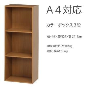 カラーボックス シェルフ 棚 オープン A4対応|bestline