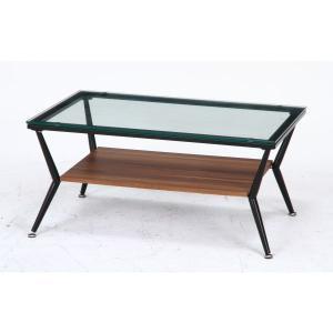 ガラスリビングテーブル クレア ダークブラウン ローテーブル テーブル おしゃれ bestline