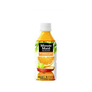 コカ・コーラ社製品 ミニッツメイド オレンジブレンド 350mlPET 1ケース 24本 ペットボトル|bestone1