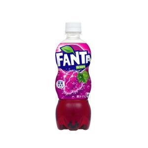 コカ・コーラ社製品 ファンタグレープ500mlPET ペットボトル 2ケース 48本|ベストワン