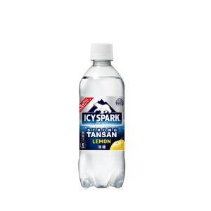 コカ・コーラ社製品 アイシー・スパーク フロム カナダドライ レモン PET 490ml 2ケース 48本|ベストワン