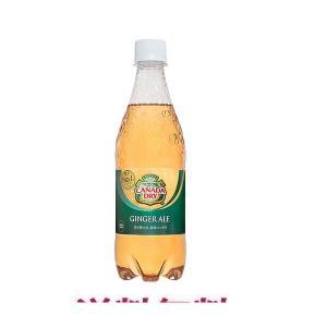 コカ・コーラ社製品 カナダドライジンジャエール 500mlPET 1ケース 24本 炭酸飲料 ペットボトル|bestone1