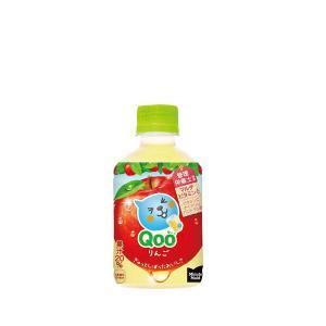 コカ・コーラ社製品 ミニッツメイドQooりんご 280mlPET リンゴ 1ケース 24本|bestone1