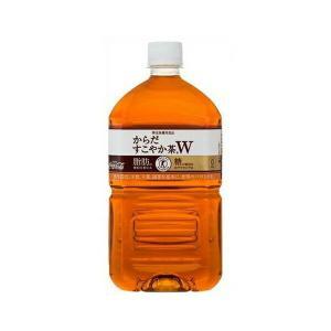 コカ・コーラ社製品 からだすこやか茶W 1050mlPET 1ケース 12本 1.05L トクホ 特保 ダイエット 特定保健用食品 ほうじ茶 烏龍茶|bestone1