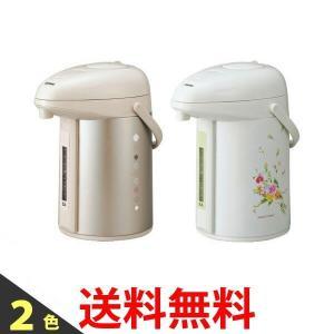 ZOJIRUSHI ポット ガラス魔法瓶 2.2L  象印 ベージュ ナチュラルブーケ 水量計つきエアーポット AB-RX22 ABRX22|1|bestone1
