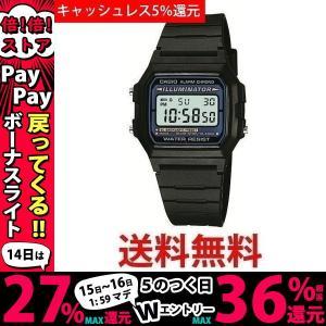 カシオ メンズ腕時計 CASIO デジタルウォッチ スタンダード F-105W-1A