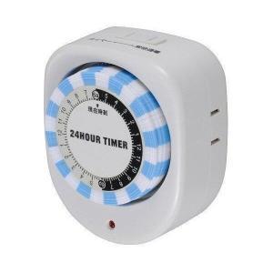 OHM HS-AT02 オーム電機 24時間タイマースイッチ HSAT02 コンセント直結式 節電 切り忘れ防止 省エネ|1|bestone1