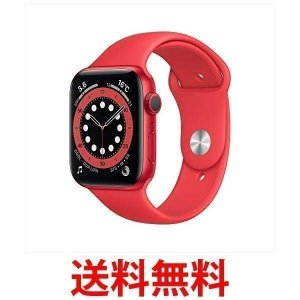Apple Watch Series 6(GPSモデル) 44mm (PRODUCT) REDアルミ...