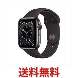 Apple Watch Series 6(GPS + Cellularモデル) 44mmグラファイト...