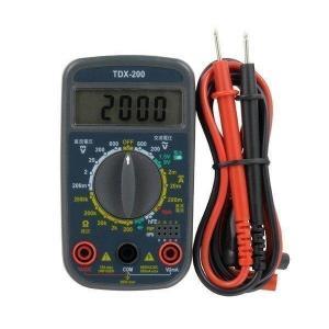 OHM TDX-200 オーム電機 デジタルマルチテスター 普及型 バッテリーチェック 電池 チェッカー TDX200 (04-1855)|1|bestone1