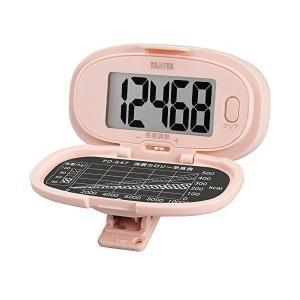 タニタ PD-647-PK 歩数計 ピンク 大画面・腰タイプ TANITA|ベストワン