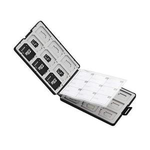 エレコム CMC-SDCPP36BK ブラック メモリカードケース SD ケース プラスチック SD...