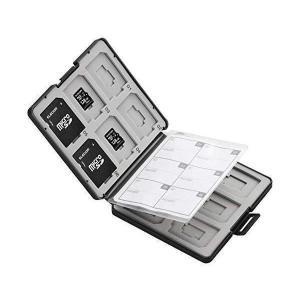 エレコム CMC-SDCPP24BK  ブラック メモリカードケース SD ケース SD12枚 + ...