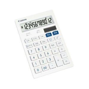 キヤノン HS-121T 電卓 12桁 卓上サイズ 抗菌 キレイ電卓 CANON HS121T|1|bestone1