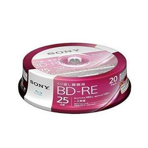 SONY 20BNE1VJPP2 ソニー ビデオ用ブルーレイディスク BD-RE1層 2倍速 20枚パック 繰り返し録画用 ホワイトワイドプリンタブル|1|bestone1