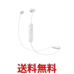 SONY ワイヤレスイヤホン WI-C300-W Bluetooth対応 マイク付き  ホワイト WIC300W|3|bestone1