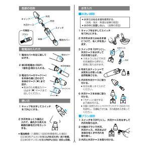 HITACHI BM-03 日立 鼻毛カッター BM-03-S エチケットカッター|1|bestone1|02