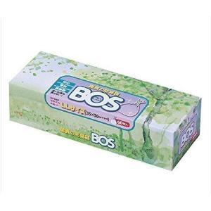 クリロン化成 BOS-2078A BOS 驚異の防臭袋 ボス 大人用おむつ うんち処理袋 LLサイズ 60枚入  うんち処理袋 ホワイト|1|bestone1