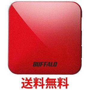 BUFFALO 無線LAN親機 WMR-433W-PR エアステーション 11ac/n/a/g/b 433/150Mbps パッションレッド WMR433WPR|1|bestone1
