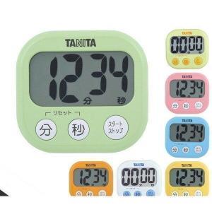 TANITA タニタでか見えタイマー100分  キッチンタイマーTD-384-GR TD-384-YL TD-384-PK TD-384-BL TD-384-OR TD-384-WH TD-384-MY|1|bestone1